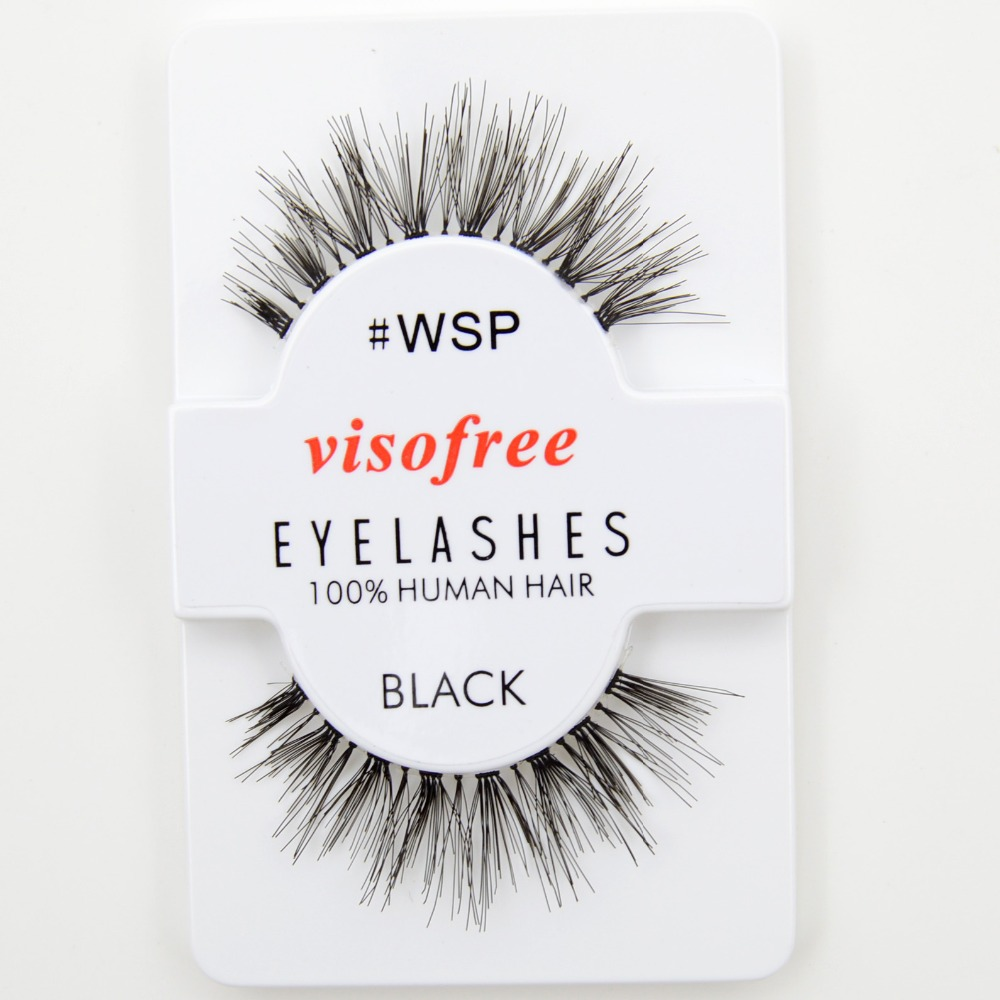 Image 5 - 120pairs/lot Visofree Eyelashes Handmade Natural False Eyelashes Cruelty Free Fake Mink Eyelashes Long Eyelash Extension Lashes-in False Eyelashes from Beauty & Health
