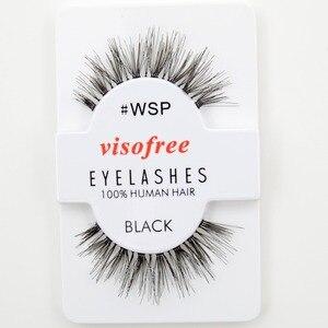 Image 5 - 120pairs/lot Visofree Eyelashes Handmade Natural False Eyelashes Cruelty Free Fake Mink Eyelashes Long Eyelash Extension Lashes
