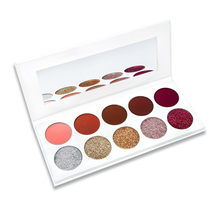 Best Deal New Moda 10 Cores Sombra Maquiagem Cosméticos Shimmer Matte Eyeshadow Palette Make up Tools(China)