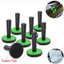 FOSHIO 8PCS Car Wrap Gripper Strong Magnet Holder Carbon Fiber Foil Film Vinyl Wrapping Tool Magnetic Fixing Install Tools