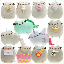 """Кошка """" 15 см суши Ангел печенье картофельные чипсы Пончик плюшевые животные Рождественские куклы для детей розничная"""