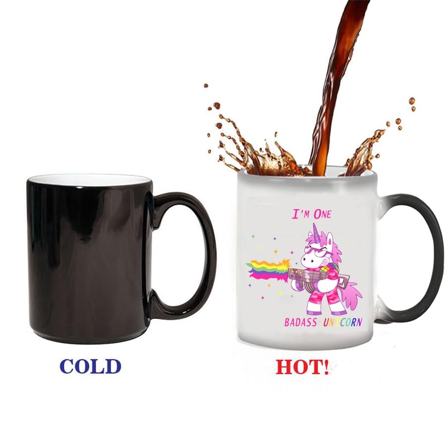 The Perfect Gift Color Changing Mug Cup To My Wife Coffee\Tea Mug Wife Mug