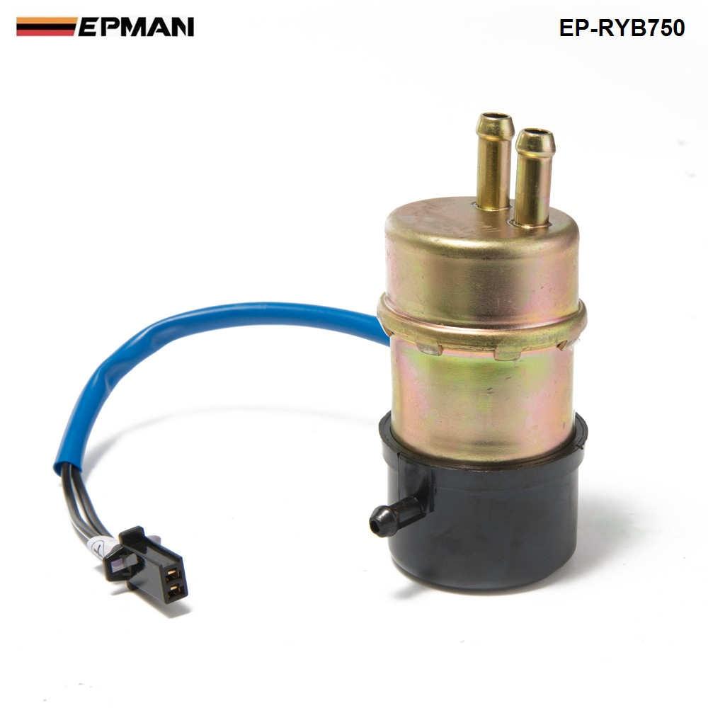 EPMAN- Electric Fuel Pump Fits For Honda VT700C Shadow 750 VT750C 700 Fuel Pumps Outside Tank EP-RYB750