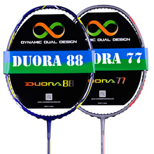badminton racket racquet duora 10 LCW 77 88 badminton string+bag+grip 26lbs
