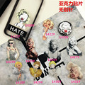 Acrylic Badge Broche HARAJUKU Marilyn Monroe Brooch Accessory for Scarf Pin Up Bag Collar Punk Jewelry ab194