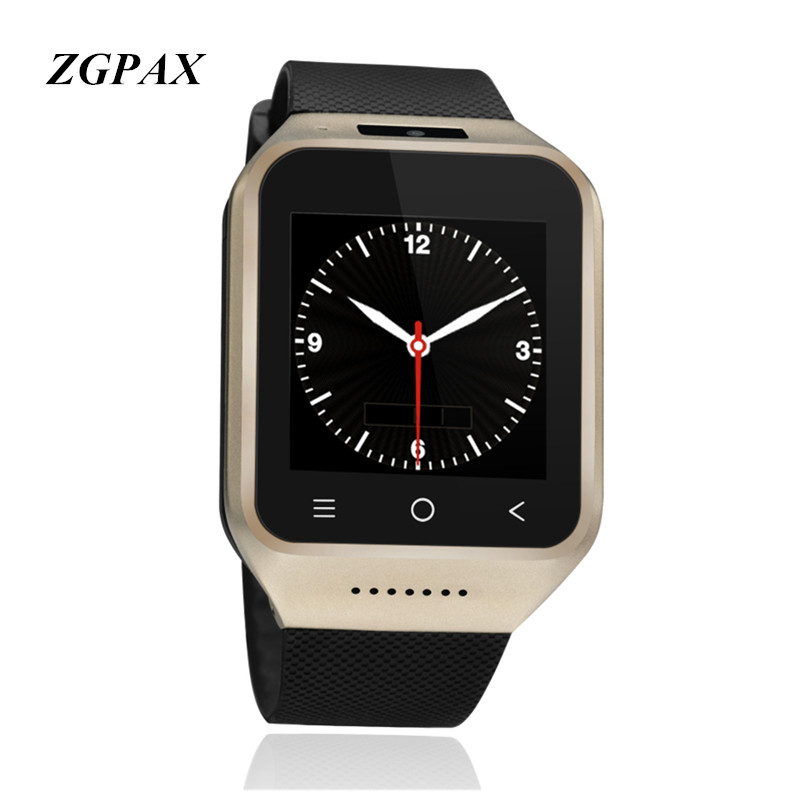ZGPAX S8 Smart Watch 1.54 inch MTK6572 Dual Core CPU High quality Wifi bluetooth Smart Electronics 3G Phone Watch With GPS