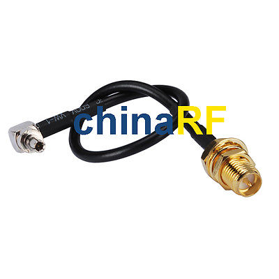For Huawei CRC9 RP-SMA Adapter CRC-9 NEW USB 3g Modem RG174 20cm 1 pc new crc9 male to 9rp sma female cable connector adapter for 3g huawei e156 e160 usb modem antenna 15cm