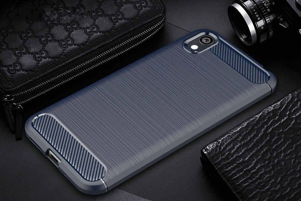 לכבוד 8 S KSE-LX9 5.71 עמיד הלם טלפון case כיסוי עבור Huawei Honor 8 S 8 S שריון מקרה בחזרה כיסוי Coque Etui>