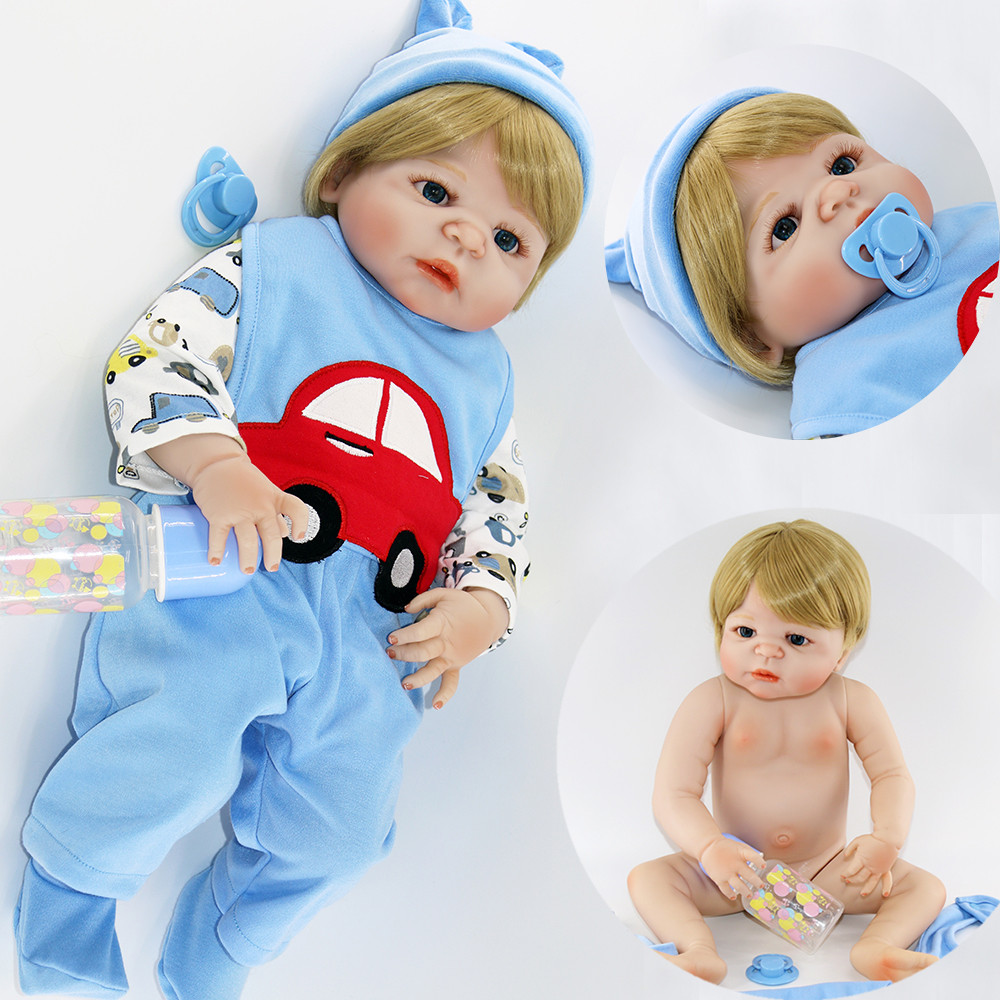 23inch 57cm Baby boy Reborn full silicone Dolls Kids Toy lifelike doll  Real Life baby reborn Alive Doll bathe boy Hot sale toys23inch 57cm Baby boy Reborn full silicone Dolls Kids Toy lifelike doll  Real Life baby reborn Alive Doll bathe boy Hot sale toys