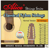 Claissical Guitar Strings Set / ALICE 026-063 Coated Copper Wound White Classical Nylon Strings 10-string Series