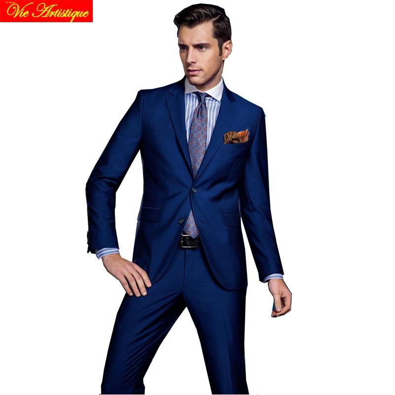 Tienda Online Chaleco de los hombres traje traje homme mariage boda ...