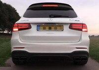Для Mercedes Benz GLC внедорожник спойлер GLC63 AMG стиль спойлер для Benz W253 glc 200 glc260 glc300 внедорожник спойлер