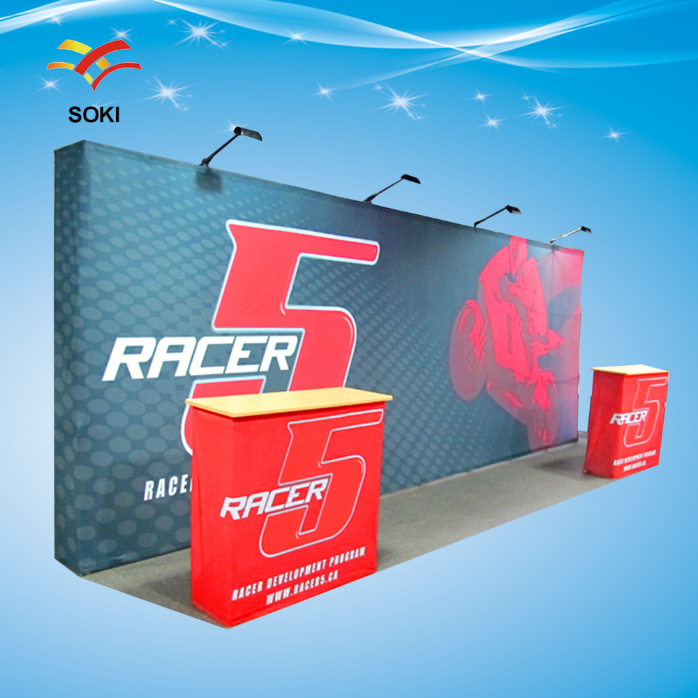 Exhibition Stand Wall : Ft straight economical model exhibition advertising pop up