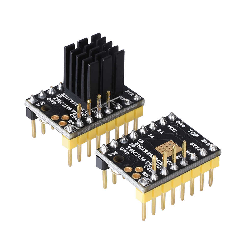 BIQU BIGTREETECH TMC2130 V2 0 SPI Stepper Motor Driver Replace A4988  TMC2208 TMC2100 driver for 3d printer controller board