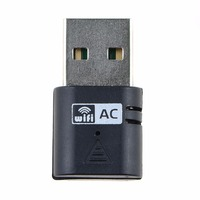 Desktop Network Cards USB 433Mbps 5Ghz Wireless AC600 Dual Band 802 11ac Adapter Wi Fi Network