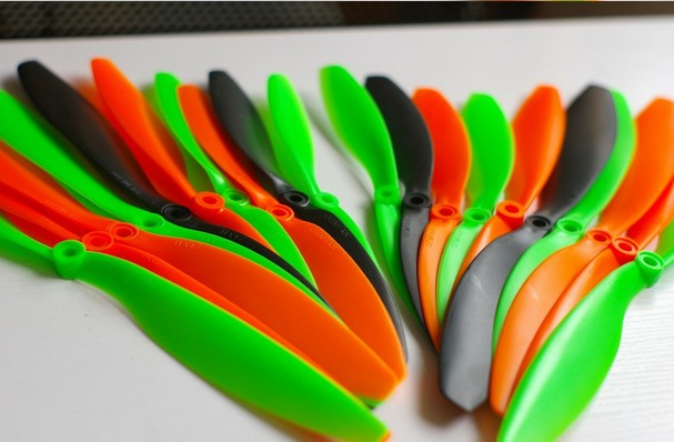 Wholesale Gemfan10 pcs 9x4 7 CW CCW Propeller for Quad Rotor Multi Rotor Helicopter 5 color