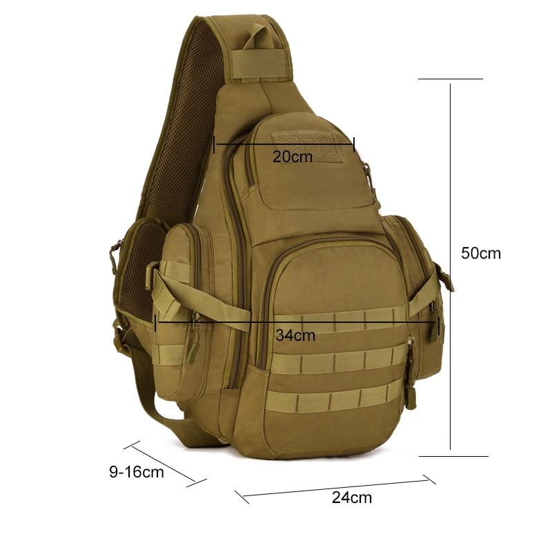 Image 3 - 35L Tactical shoulder Backpack,Molle Outdoor Backpack for men,Waterproof Army Camping Travel Hiking Trekking Tactical Bagsport bagprotector plushiking bag -