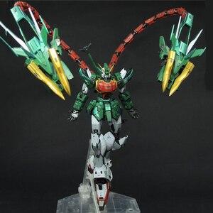 Image 3 - סופר נובה XXXG 01S2 ירוק כפול הדרקון Altron Gundam דגם ערכת MG 1/100 פעולה איור עצרת צעצוע מתנת מים מדבקה