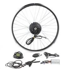 Комплект для переоборудования велосипеда G24F, 36 В, 250 Вт, мотор-ступица для электрического велосипеда 20-28 дюймов, мотор для переднего колеса с ...