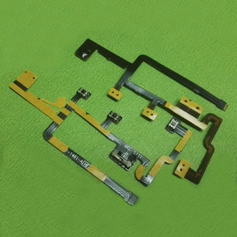 Power Switch On/Off Button Flex Cable For IPad 2 2th A1395 A1396 For Ipad2 CDMA Volume Control Silent Mute Side Key
