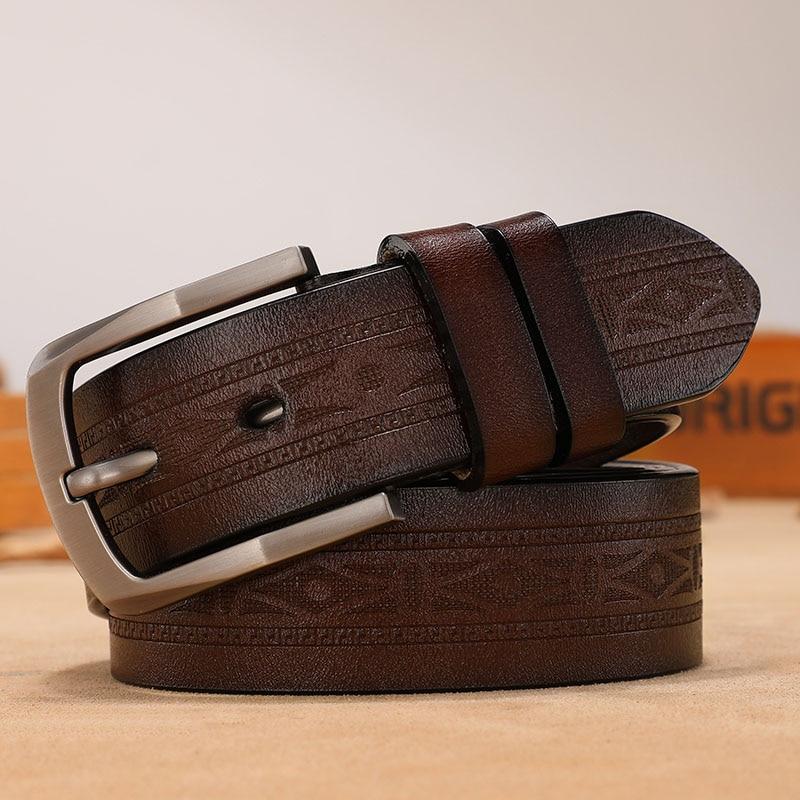 Fashion Luxury Belt Designer Genuine Leather Belts For Men Vintage Strap Male Belt For Jeans Ccoolerfire HQ092