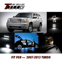 20PCS Car Interior 6000K Led Kit Auto Dome Map License Plate Step Courtesy Light Lamp For