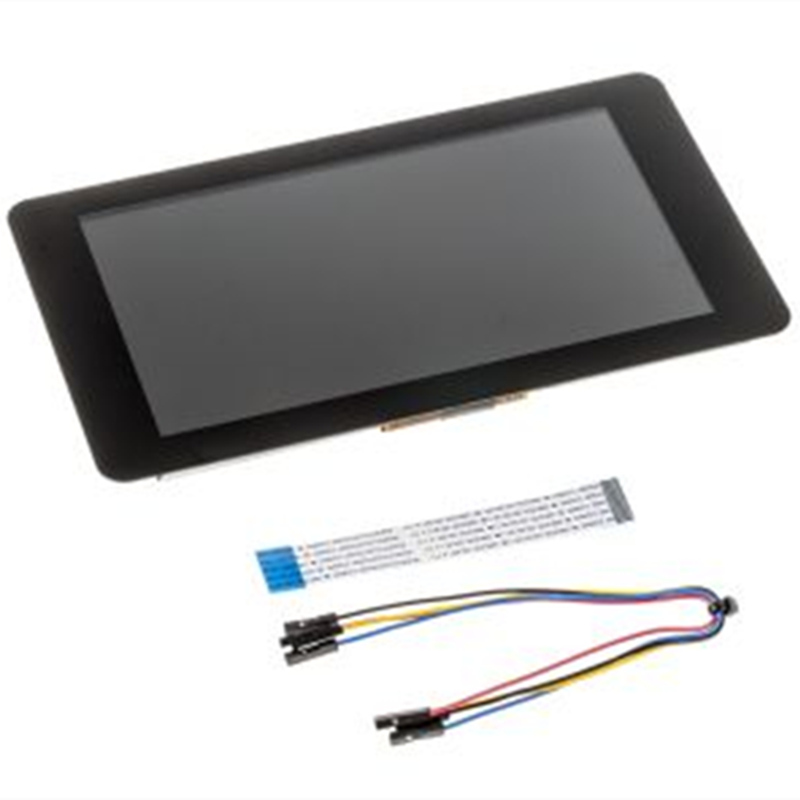 In Stock Official LCD Touch Screen 7inch Capacitive Touch Display Module For Raspberry Pi 3 B+ Raspberry Pi Touchscreen