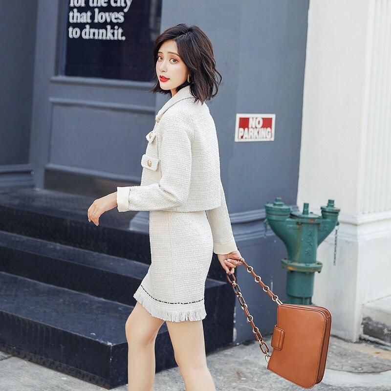 piece Supérieure Minceur Solide 1 Suit Vêtements Couleur Décontracté Automne Costume Deux De coréen Femmes Nouvelle Qualité Slim Mode 2019 qPZdqA