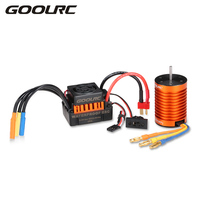 GoolRC Upgrade Waterproof F540 4370KV Brushless Motor With 45A ESC Combo Set For 1 10 RC