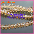 Free Shipping!  5040 AAA Top Quality  gold shadow color  loose Glass Rondelle beads.2mm 3mm 4mm,6mm,8mm 10mm,12mm