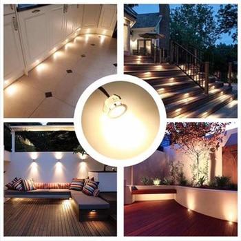 16 PCS Buried Lights 12v IP67LED Garden Decoration Landscape Lights Lawn Lights Path Lighting Spotlights