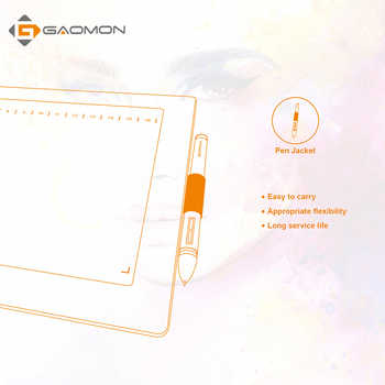 GAOMON M106K 12 ホットキーグラフィック描画タブレットアート絵画ボードデジタル 20 で勝利 & Mac 用交換ギフトとしてペン先