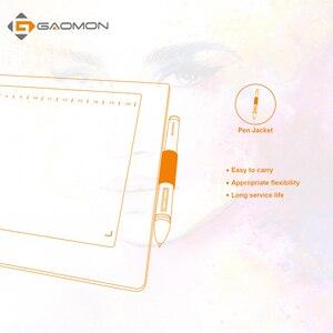 Image 3 - GAOMON M106K 12 HotKey لويحة الرسم البياني الفن اللوحة مجلس الرقمية اللوحي القلم ل Win & Mac مع 20 قطع استبدال كهدية