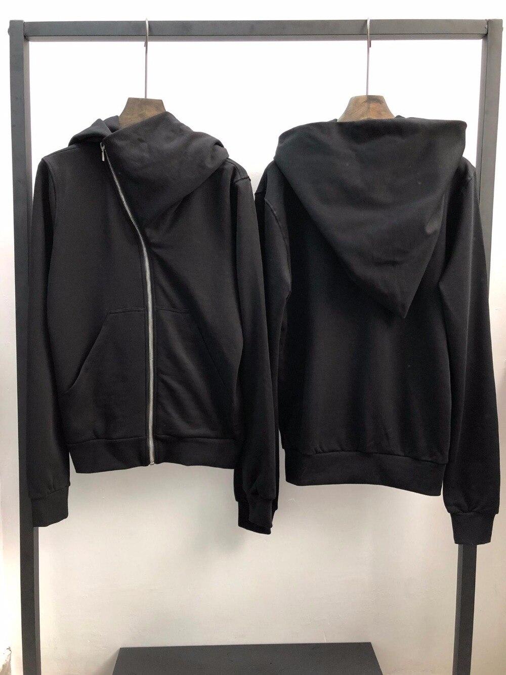 Owen seak hommes sweats capuches gothique Ro Style vêtements pour hommes classique printemps femmes solide pull à capuche noir Sweatshirts taille XL-in Sweats à capuche et sweat-shirts from Vêtements homme    1