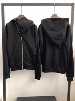 Sudaderas Owen seak para hombre, estilo gótico, ropa de calle alta para hombre, sudaderas clásicas de primavera para mujer, sudaderas con capucha negras sólidas