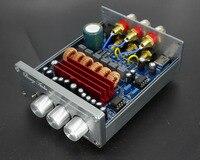 DC12 24V TPA3116D2 2.1 channel mini HIFI Digital amplifier , Op amp NE5532 / Over LM1875 DP1