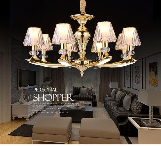 Crystal Chandelier Lustre De Cristal Chandelier Light Lampara Home Lighting  Luxury Lamp Creative Modern Lamps Livingroom