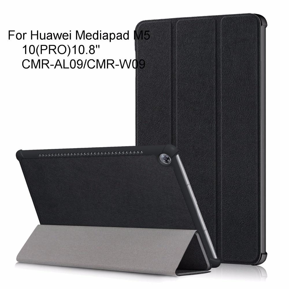 Cubierta de caso para Huawei Mediapad M5 10,8 cubierta de la caja para Huawei mediapad M5 10 (PRO) CMR-AL09/CMR-W09 + regalo gratis