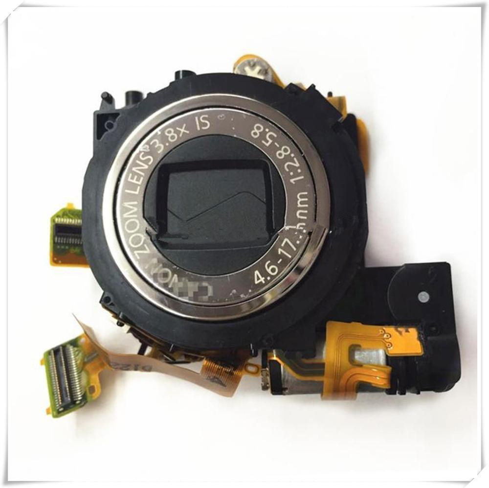 860 nuevo objetivo ixus860 zoom para Canon ixus 99% sd870 ixy910 con piezas de reparación de cámara de uso ccd envío gratis