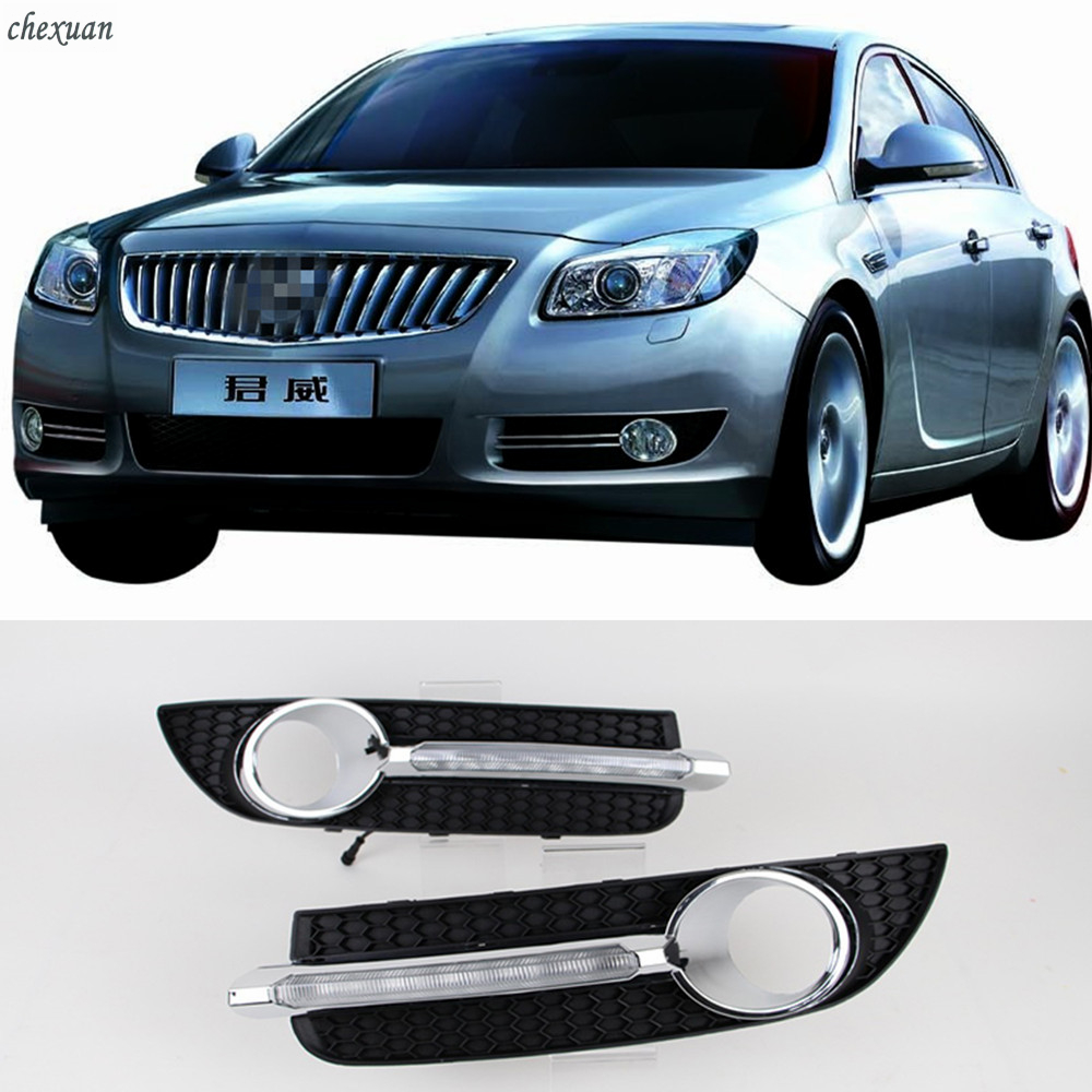 Buick Regal Gs For Sale: CSCSNL 1 Set ABS LED DRL Daytime Running Light With