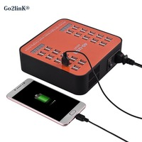 Go2linK 40 Ports 200Watt 30A USB Charger Mobile Phone Charging Power Supply Bulk Product Aging Test