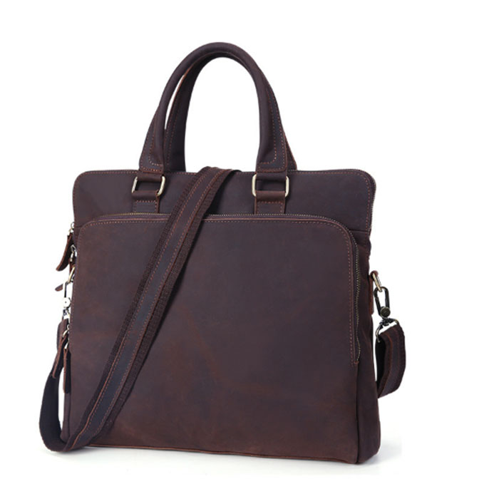 New Men Genuine Leather bag Business Men bags Laptop Tote Briefcase Crossbody bags Shoulder Handbag Men's Messenger Bag brown zznick new men genuine leather bag business men bags laptop tote briefcase crossbody bags shoulder handbag men s messenger bag