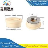 Precitec Ceramic P0571 1051 00001 Laser Nozzle Holder Kt B2ins Con Ceramic Part 28/24.5mm Enhanced Type Long Life