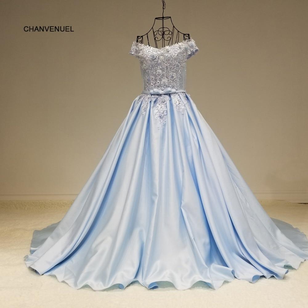 LSX64111 stock Vestido de fiesta largo satinado elegante novia piso - Vestidos para ocasiones especiales