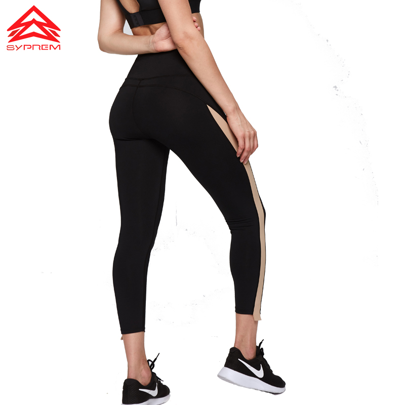 SYPREM Women Sports yoga Pants bottoms tight crops spell color yoga crops girl Fitness Running Sports Wear,YK80125SYPREM Women Sports yoga Pants bottoms tight crops spell color yoga crops girl Fitness Running Sports Wear,YK80125