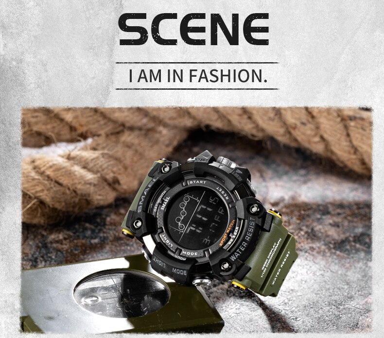 HTB1gfVgRIfpK1RjSZFOq6y6nFXag Waterproof Chronograph Digital Watch For Men Fashion Outdoor Sport Wristwatch Top Brand SMAEL Men's Watch Alarm Clock