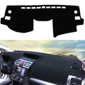 Black Car Dash Mat Dash Cover Mat Dashboard Cover For Subaru /Forester 2013 - 2016