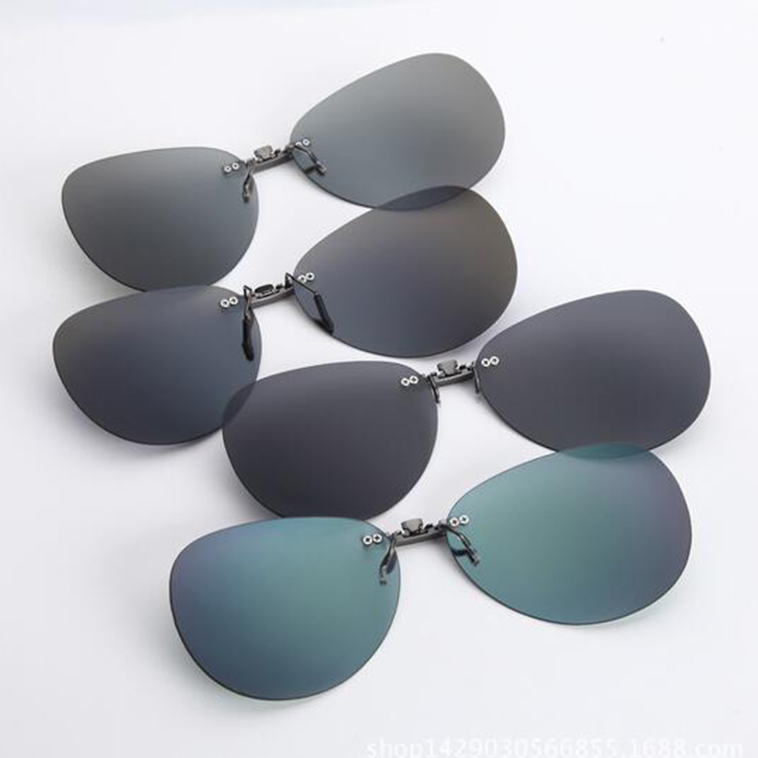 a63739885e1 Hot Sell Mens Womens Polarized Clip On Sunglasses Driving Night Vision Anti  UVA Anti Sunglasses Clips Riding-in Fishing Eyewear from Sports    Entertainment ...