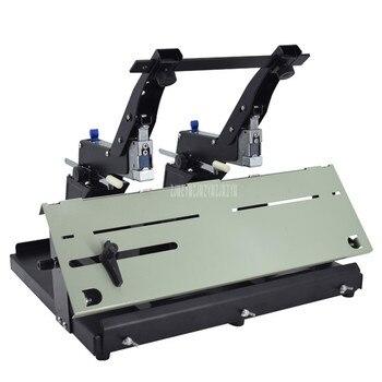 SH-03G Vincolante Profondità 10 Cm Manuale Del Desktop Cucitrice Doppio Cucitrice Macchina Graffette Binder Piatto/Sella Libro Di Carta Macchine E Attrezzature Per Fascicolazione