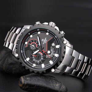 Image 4 - Relogio Masculino CASIMA Chronograph Sport Watch Men 100M Waterproof Charm Luminous Military Army Quartz Wrist Watch Clock Saat